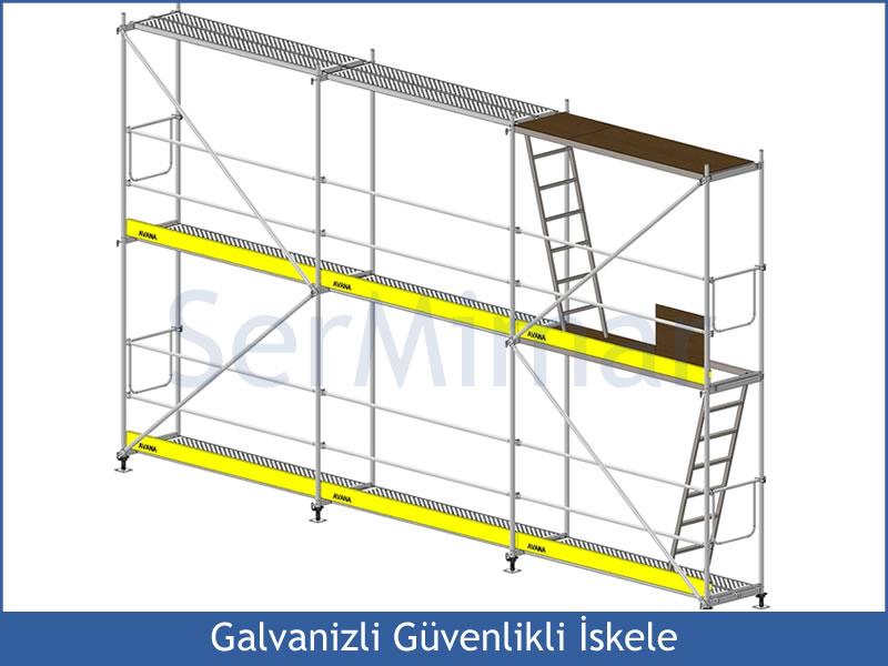 » Güvenlikli Galvanizli İskele İstanbul, Ankara, Bursa, Konya, Antalya